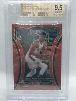 2019-20 Select Giannis Antetokounmpo Red Wave Prizms T-Mall China BGS 9.5