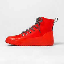 Hunter for Target Adult Unisex Dipped Canvas High Top Sneakers Red Size W15/M13