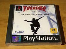 Thrasher Skate and Destroy ps1 Playstation ps1 Spiel
