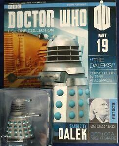 EAGLEMOSS DR WHO FIGURINE COLLECTION Issue 19 Skaro City Dalek