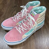 VANS Toy Story Sk8-Hi Slim Lil Bo Peep Skate Shoes High Top Womens 7