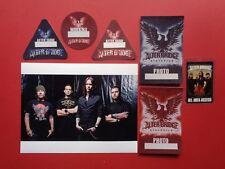 Alter Bridge,Promo Photo,6 Rare Backstage passes Various Tour Originals