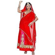 Costumi e travestimenti vestiti rossi per carnevale e teatro da donna prodotta in Italia