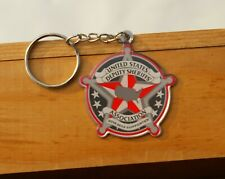 United States Deputy Sheriff's Association 2018-2019 Supporter Metal Keychain