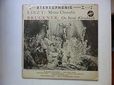 LISZT Missa Choralis BRUCKNER Os Justi dir GILLESBERGER 501040