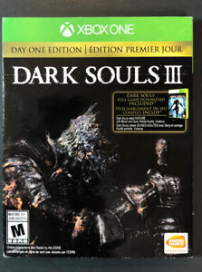 Dark Souls 3 [ DAY ONE Edition ] (XBOX One) NEW