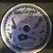 THIRD WORLD It's the same old Song  CLUB MIX , LP & RADIO Mixes PROMO CD MERCURY