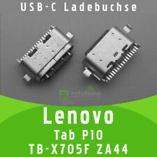 ✅ Lenovo Tab P10 TB-X705F ZA44 USB-C Buchse Ladebuchse Socket Port Connector