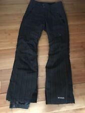 Mint! Columbia Women's Double-Pack Omni Heat Pants XS Striped Gray/Black