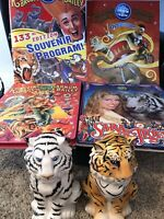 LOT OF 6 Ringling Brothers and Barnum & Bailey Circus Souvenirs programs & cups
