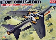Academy 1/72 F-8P Crusader FAF Plastic Model Kit 12407 ACY12407