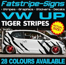 VW UP TIGER STRIPES GRAPHICS STICKERS DECALS VOLKSWAGEN V DUB 1.0 GTI TURBO