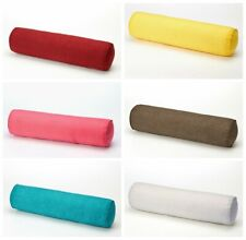 Long Roll Tube Pillows Cotton Mushy Throw Round Rectangular With Bolster Cover