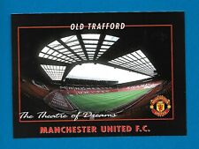 Football Postcard - Old Trafford, home of Manchester United