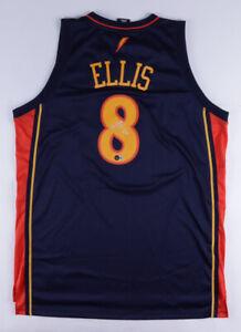 Monta Ellis Signed Golden St Warriors Adidas NBA Style Jersey (Beckett COA)