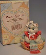 Calico Kittens - Kitten Knitting In Basket - 628220 - Hanging Ornament