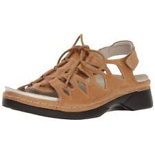 Propet Women's Ghilliewalker Platform Dress Sandal Size 7.5 Tan