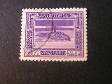 *ITALIAN SOMALILAND, SCOTT # 139, 71/2c VALUE 1932 LIGHTHOUSE SCENES ISSUE USED