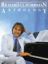 Richard Clayderman Anthology Sheet Music Piano Solo Book NEW 014007030