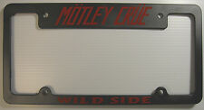MOTLEY CRUE LICENSE PLATE FRAME - WILD SIDE