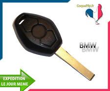 Coque Pour Clé Télécommande Plip Bmw serie Z4 E38 E39 E46 M5 M3 + cle vierge