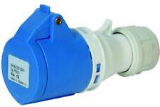 PRESA INDUSTRIALE 2P+T 220-250V16A IP44 COLORE BLU