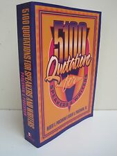 5100 Quotations For Speakers & Writers by Prochnow & Prochnow Jr