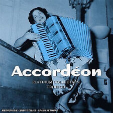43 // PLATINUM COLLECTION  ACCORDÉON COFFRET 3 CD NEUF