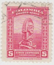 (CO52) 1941 COLOMBIA 5c red pre Colombia movement ow747