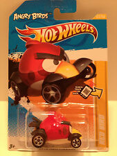 Hot Wheels 2012 New Models Angry Birds Red Bird Vehicle Diecast Scale 1:64