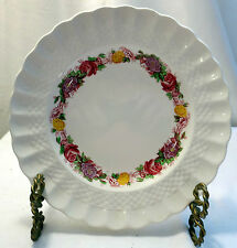 "Copeland Spode Rose Briar Pattern 8"" Plate from 1949"
