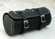 New Leather Bicycle Cycle Round Tool Bag Vintage Look Gift Best Quality 1P