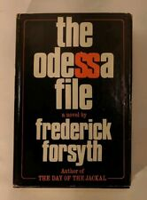 The Odessa File by Fredrick Forsyth 1972 Viking Hardcover Book Club Edition w/DJ