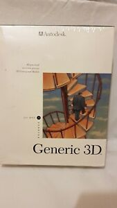 AUTODESK GENERIC 3D FOR DOS RELEASE 2 SOFTWARE