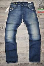 Diesel Mid Rise Jeans Faded Regular for Men