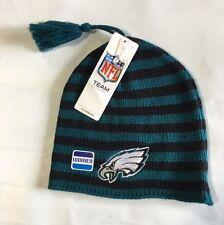 Philadelphia Eagles Knit Beanie Winter Hat Toque Skull Cap New women's tassle
