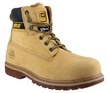 CAT Caterpillar Holton Mens Safety Steel Toe Cap Work Boot UK6-15