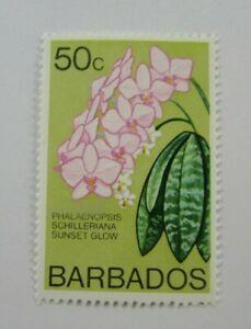 c1974 Barbados SC #407 SUNSET GLOW Flowers  MNH  stamp