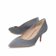 Kurt Geiger Suede Slim High (3-4.5 in.) Women's Heels