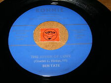 BEN TATE - THE RIVER OF LOVE - I'LL NEVER LET YOU GO / LISTEN - VOCAL ROCK JAZZ