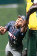 "MCFARLANE – MLB SERIES 5 – TORII HUNTER - MINNESOTA TWINS – 6"" ACTION FIGURE !"
