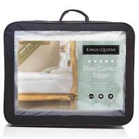 Fine Bedding Company Kings & Queens Deep Comfort Topper / Mattress Enhancer