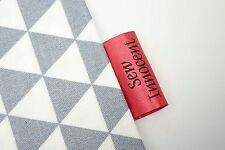 las correas coser. banderines 16 mm cinta de algodón a cuadros Sesgo Unión Delantales