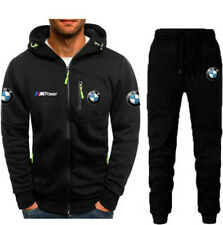 Newest BMW Fans Men Jacket Full Sweatshirts warm Coat Autumn Tops and pants
