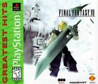 Final Fantasy VII Greatest Hits Playstation Game PS1 Used Complete