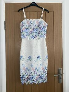 Lipsy Floral Occasion Dress Size 10