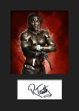 R-TRUTH #1 (WWE) Signed Photo A5 Mounted Print - FREE DELIVERY