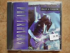 Pat Travers-JUST A TOUCH (US IMPORT) CD NEW SEALED SHRAPNEL