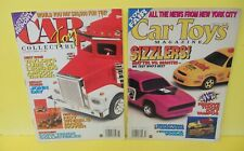 2 Car Toy Collectibles Magazines June & November 1997  Features MATTEL SIZZLERS