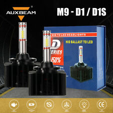AUXBEAM PAIR D1 D1S 6000K White HID Xenon Headlight Light Bulbs OEM Replacements